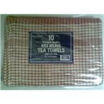 Catering Tea Towels / Drying Cloths 100% Cotton (10)
