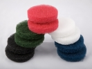 Abrasive pad starter kit 2 of each black, green, red, white,