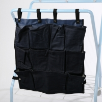 Ten pocket caddy bag for carrying utensils